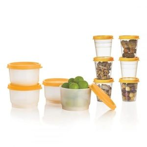 Tupperware super snack 10pc set